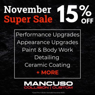 detailing, auto body, upgrade sale